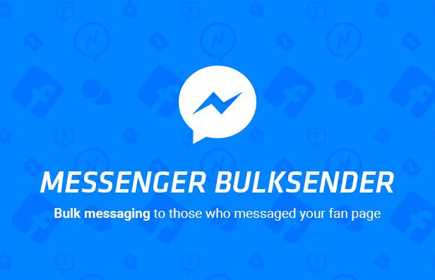 Facebook Messenger Bulksender 1