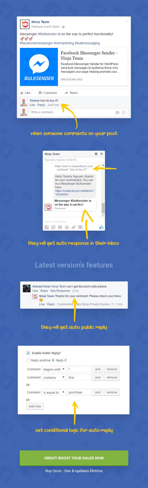 Facebook Messenger Auto-Reply 2